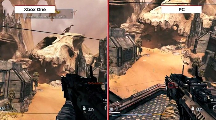 titanfall xbox one vs pc graphics comparison sidebyside