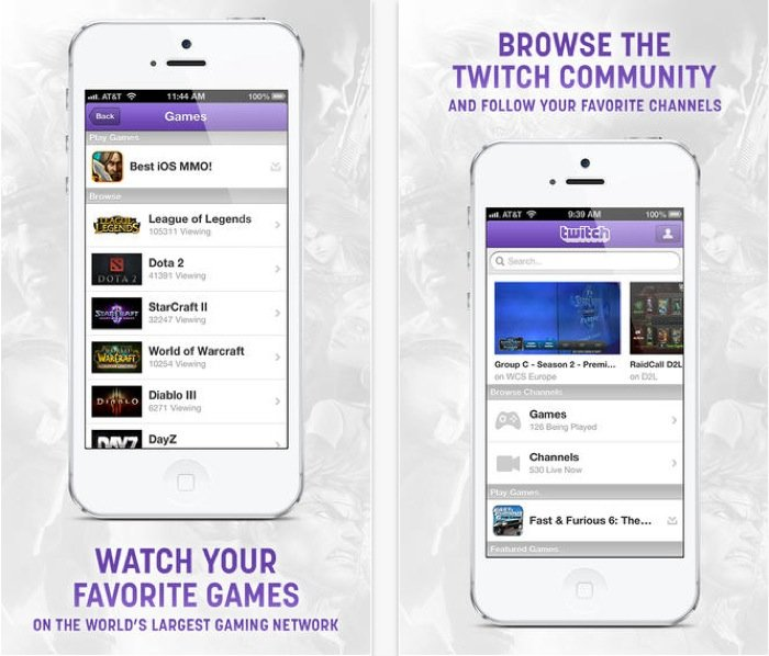 Twitch iOS App Update And Gameloft Mobile Twitch Streaming