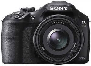 Sony a3500 DSLR Details Revealed