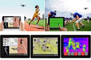 AeroTrainer Drone Helps Coaches Train Athletes and Keeps an Eye on Health Issues