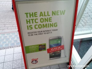 The All New HTC One Being Advertised in the UK