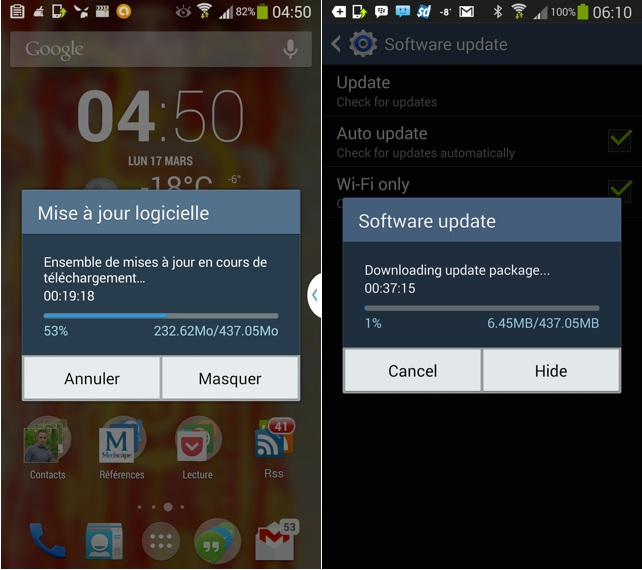 Android 4.4 Galaxy Note 3