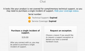 Apple To Start Charging for Out-of-Warranty Chat Support