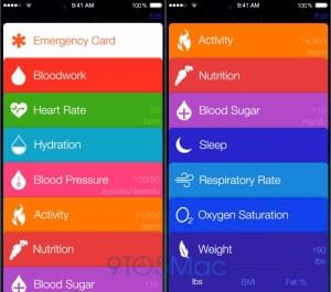 Apple Healthbook App Screenshots Leaked