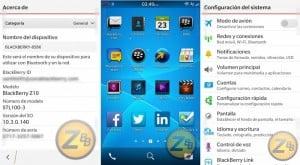 Screenshots of Rumored Blackberry OS 10.3 Leaked