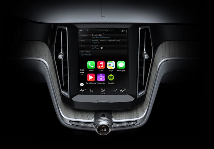 Volvo Shows Us How Apple's CarPlay Will Work (Video)