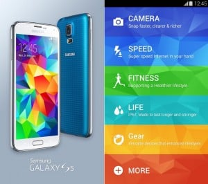Samsung Galaxy S5 Experience App Lets You Check Handset's New Features