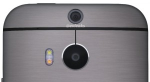 All New HTC One Press Image Shows Handsets Dual Cameras