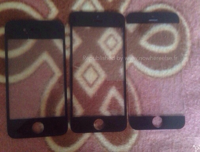 Front Panel of the Purported iPhone 6 Leaked, Shows A Bigger Screen