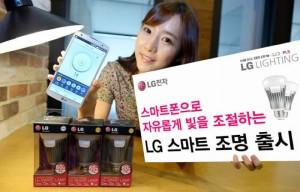LG Announces New Smart Light Bulb