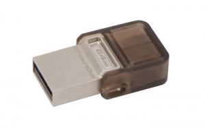 Kingston DataTraveler microDuo adds Storage for microUSB Devices