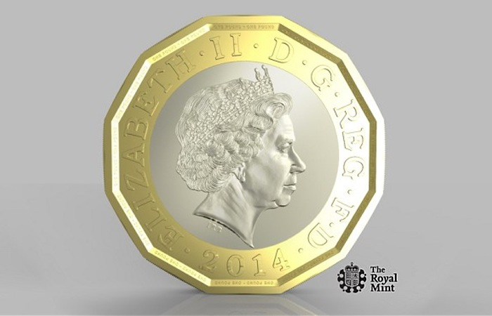new 1 pound coin