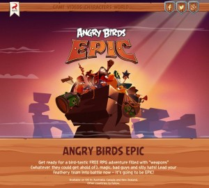 Angry Birds Epic Launched In Australia (Video)