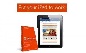 Microsoft Offering Free Office 365 Subscription for One Year If You Bring Your iPad to A Microsoft Store
