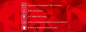 OnePlus One To Come with Snapdragon 801, not Snapdragon 800