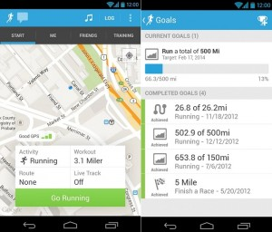 RunKeeper for Android Gets An Update With New Training Tab And More