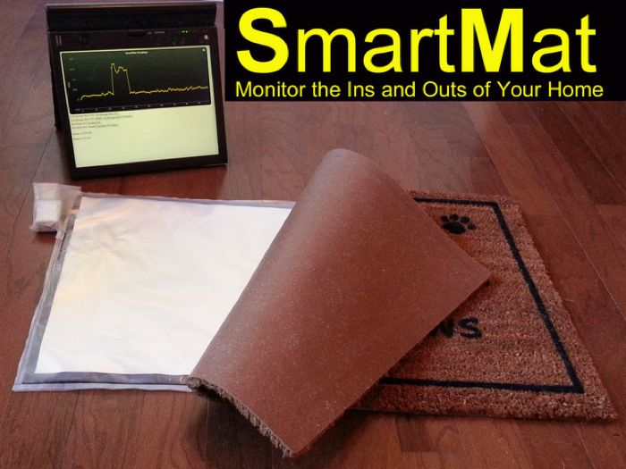 Smartmat the connected door mat - Geeky welcome mats ...