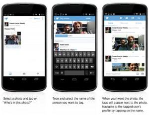 Twitter Android And iOS Apps Get Photo Tagging