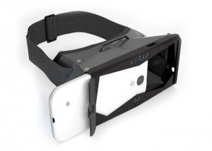 vrAse Smartphone 3D Virtual Reality Headset Case Launches Next Month For $100