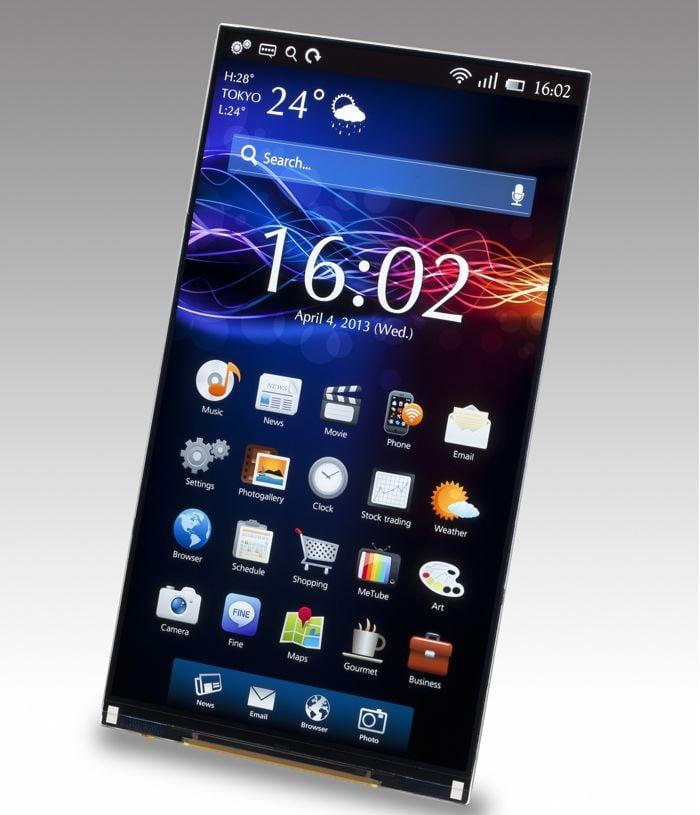WQHD Smartphone