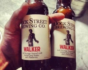 Walker: A beer for Zombies, made with goat brains