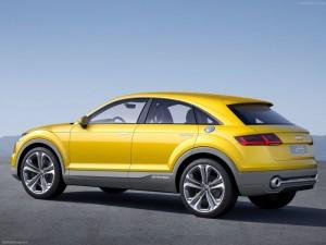 Audi TT Offroad Concept Car Unveiled