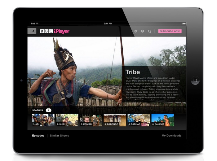 BBC iPlayer Catch-Up Service