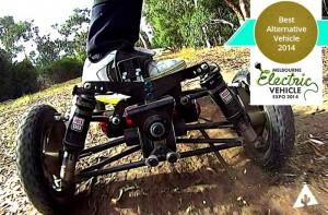 BajaBoard Extreme Electric Skateboard (video)