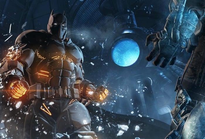 Batman XE Suit