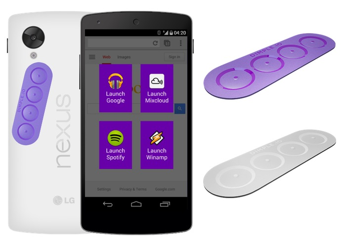 Dimple Android Buttons