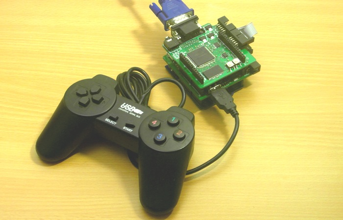 DuinoCube Hackable Retro Game Console
