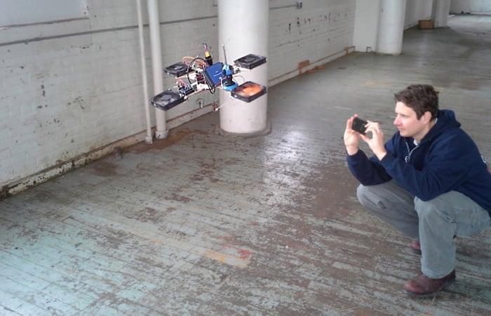 E-Waste Quadcopter