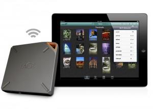 LaCie Fuel iPad Portable Storage Device Doubles Capacity