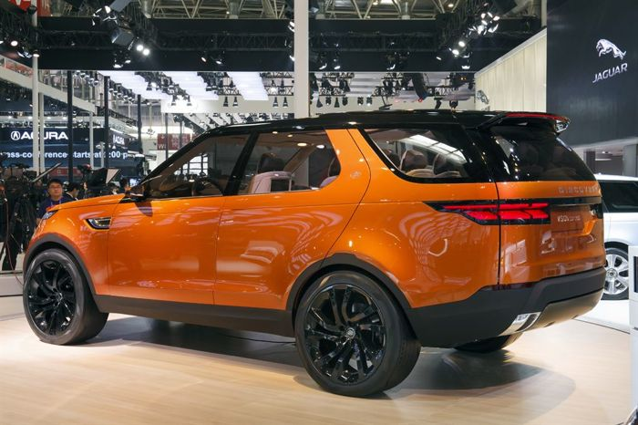 Land Rover Discovery Vision Concept Shown Off At Beijing Auto Show