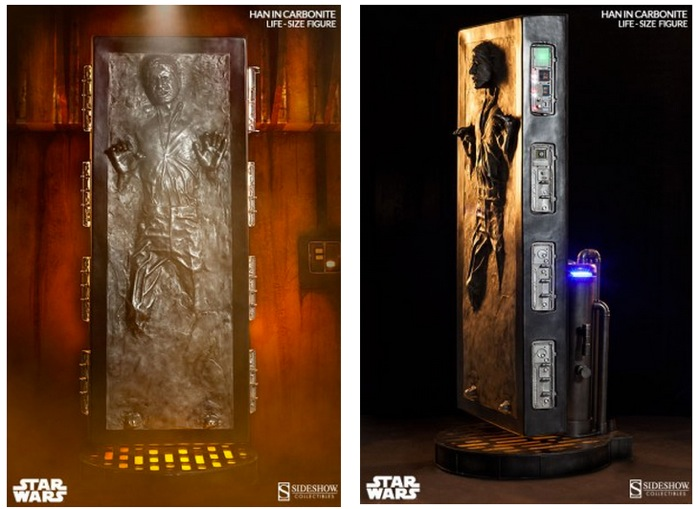 Life-size Han Solo In Carbonite