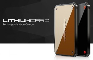 LithiumCard Super Thin Battery Pack (video)