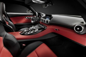 Mercedes AMG GT Teased With Interior Shot