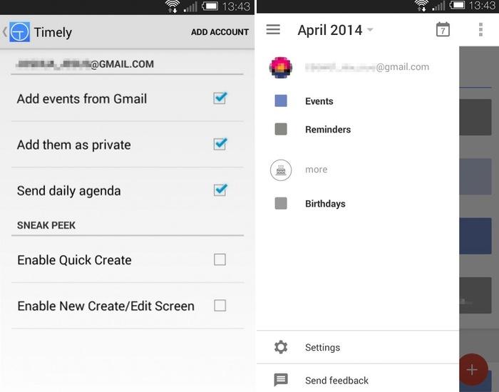 New Android Calendar App