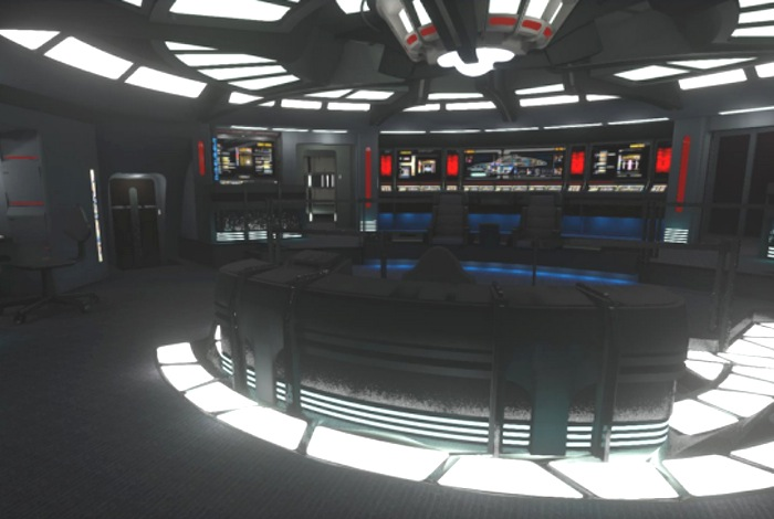 Star Trek Voyager Bridge