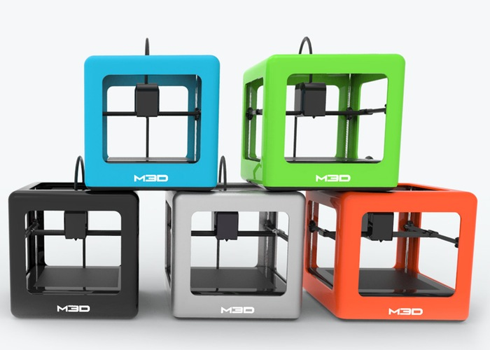 The Micro Mini 3D Printer