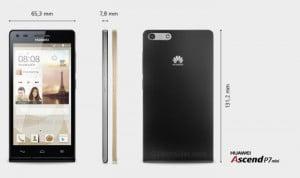 Huawei Ascend P7 Mini Revealed