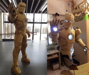 Amazing Cardboard Iron Man Suit (Video)