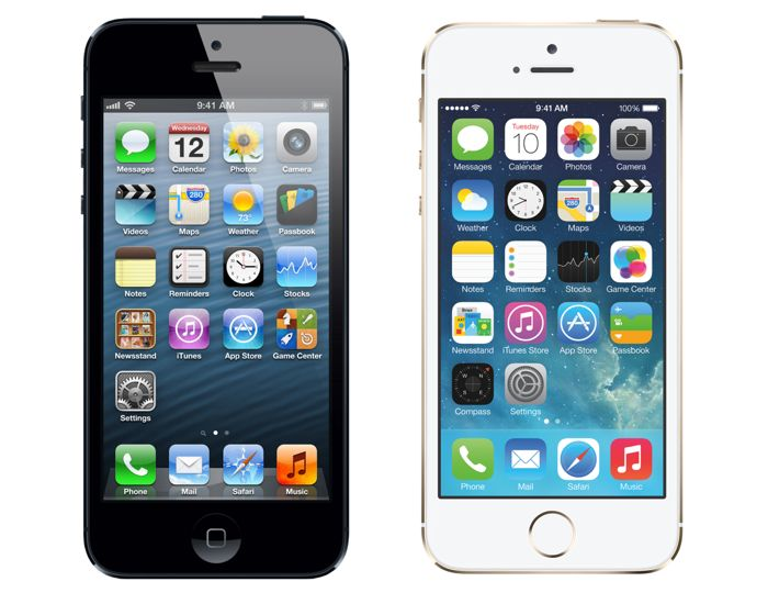 Difference Between The iPhone 5 and 5S