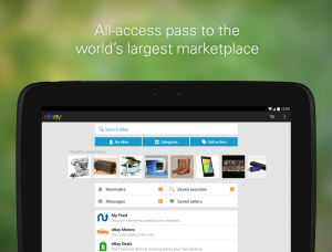 Ebay For Android Gets An Update With Actionable Notifications, and A New Layout