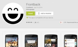 Popular iOS App Frontback Hits the Google Play Store