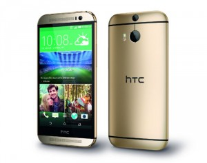 Gold HTC One (M8) Now Available In The UK