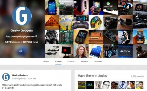 Google Adds View Counts To Google+ Profiles