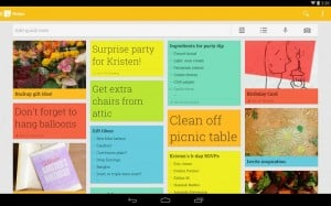 Google Keep for Android Gets An Update with Searchable Images, List Settings and More