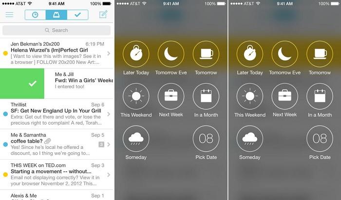 Mailbox for iOS