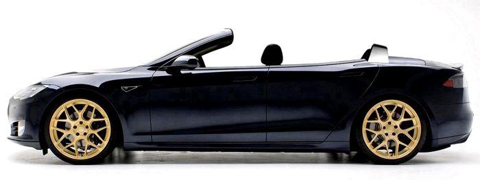 Tesla Model S Convertible